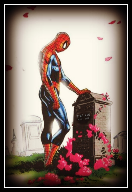 Art by Lee Weeks, from the cover of Spider-Man Death & Destiny Vol. 2