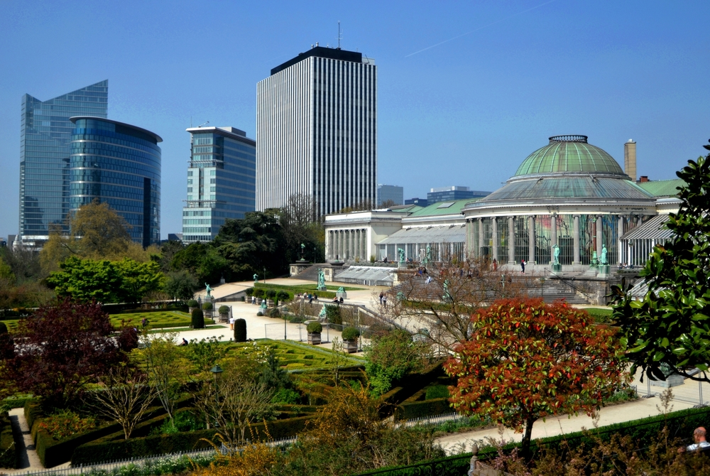 The Botanical Garden of Brussels - which looks suspiciously like something out of Logan's Run.