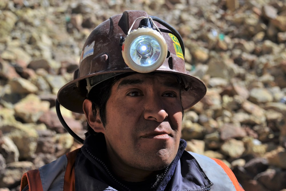Antonio, a former miner and current mine guide.
