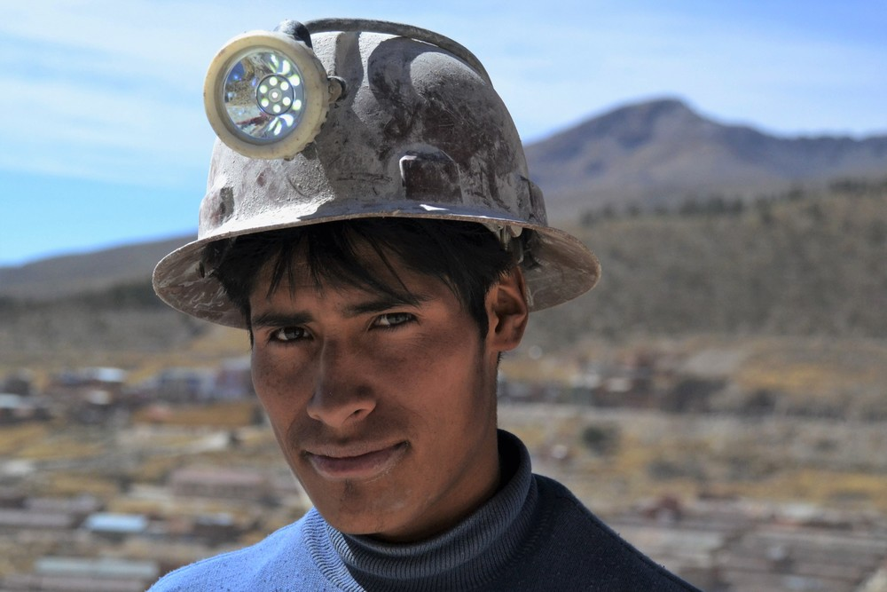 A young miner.