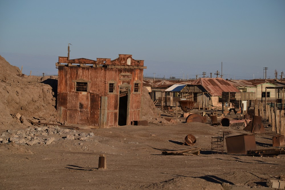Humberstone, an abandoned Chilean mining town.
