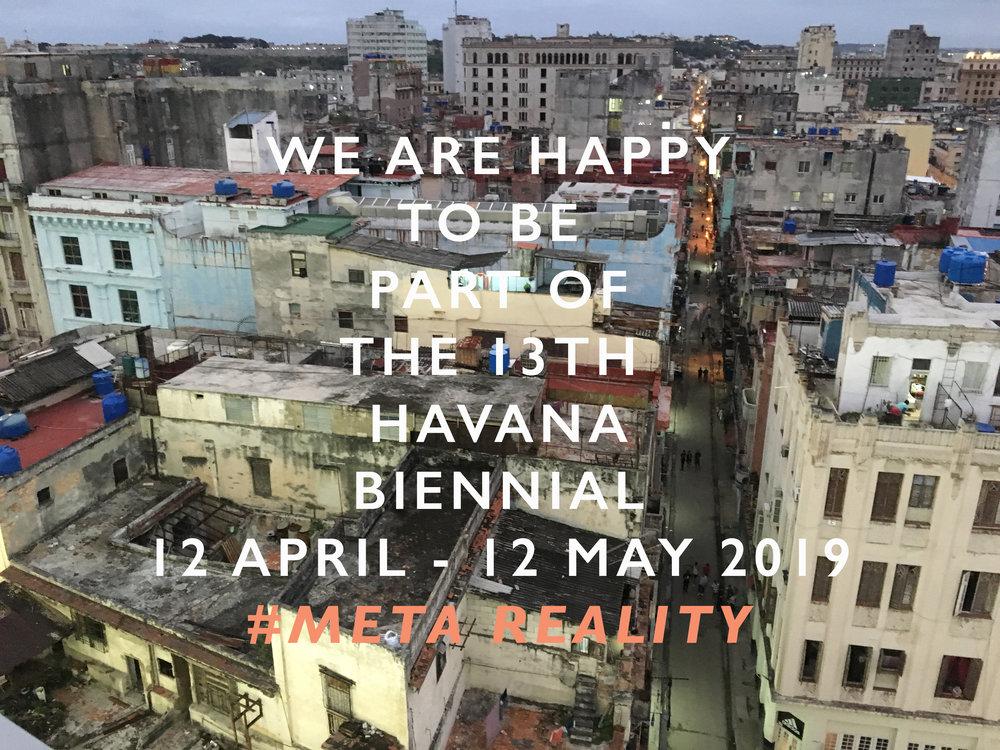 Havana Biennial 12 April - 12 May 2019