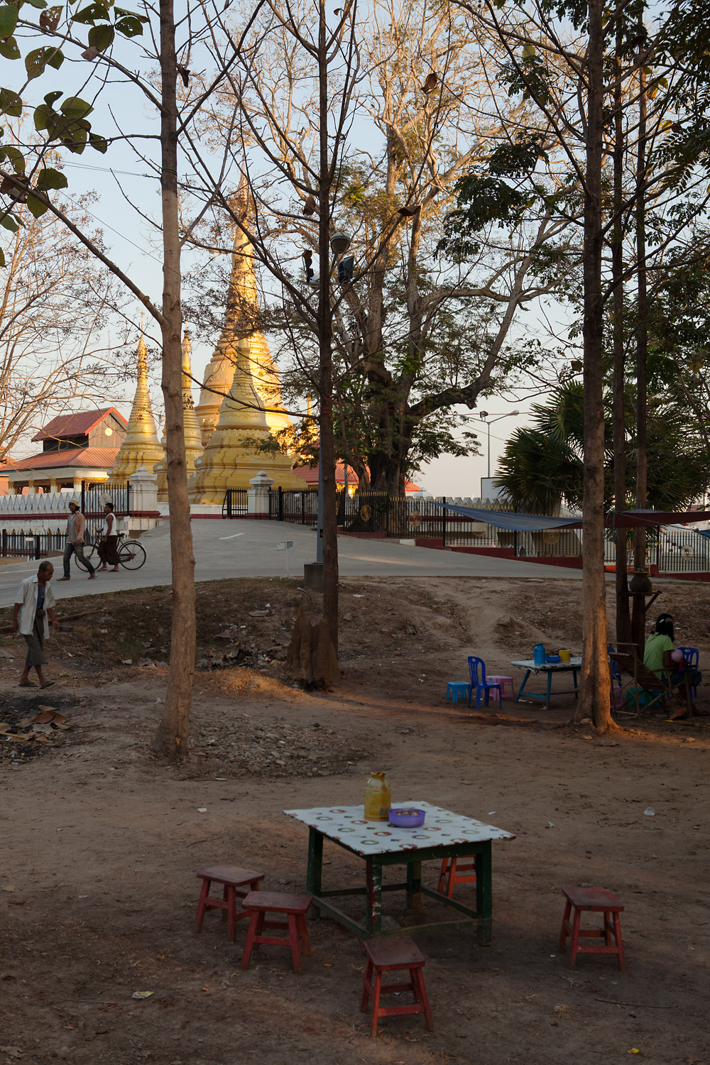 An ancient pagoda that now lies within the Naypyidaw city limits.
