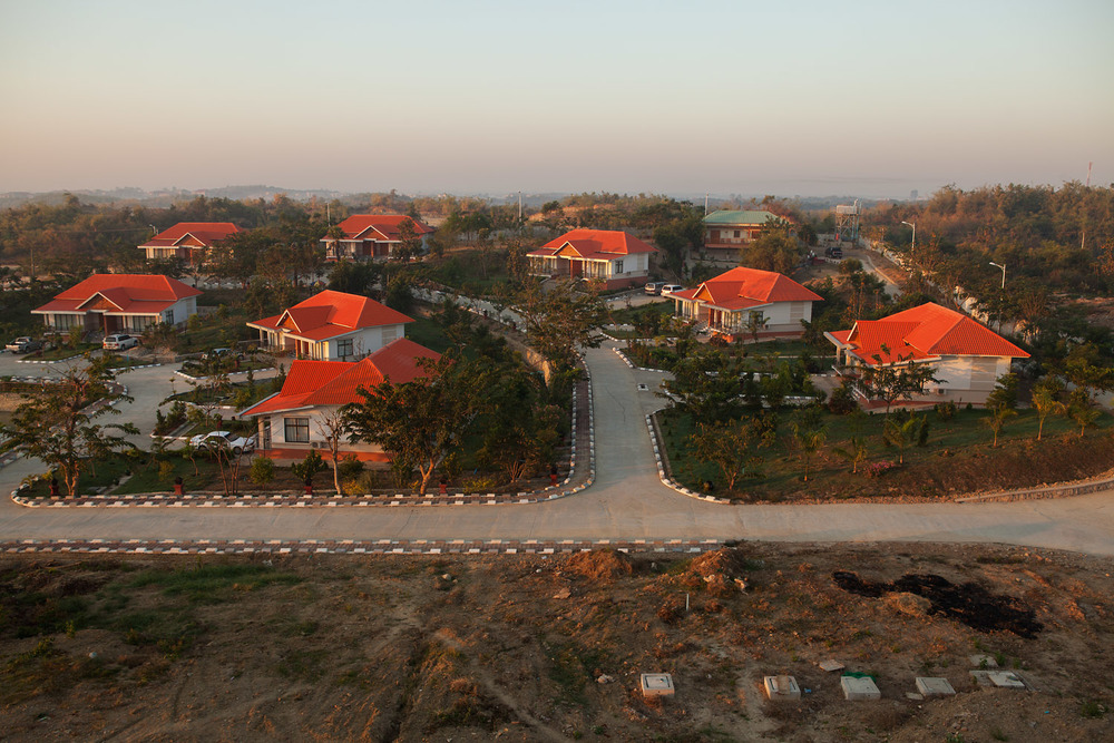 A new suburban style development.