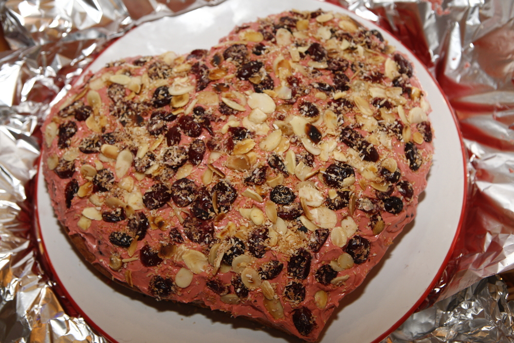 Jan's beautiful Valentine Cake