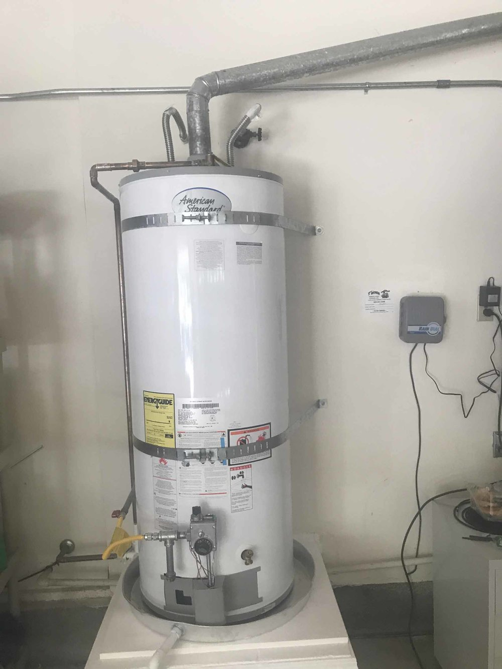 Water Heaters - Get your water heater cleaned and the hot water back!If you need a new water heater, we'll install it and save you time and money.We handle all the top brands!