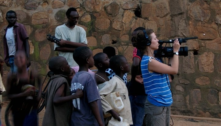Filming Burden of My Heart in Kigali, Rwanda