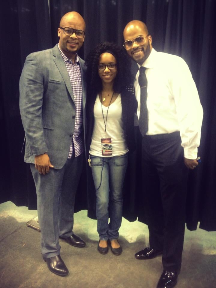 Backstage with James Fortune and JJ Hairston