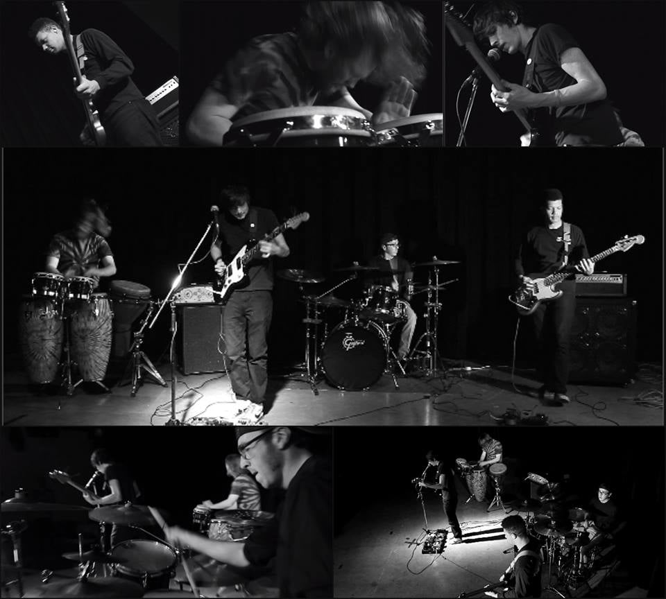 Screen grabs from a music video we filmed