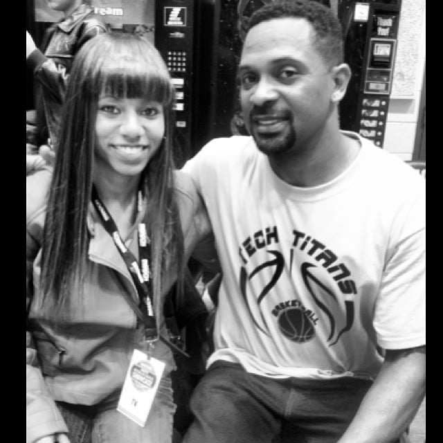 Backstage with Mike Epps