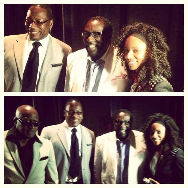 Backstage with The O'Jays