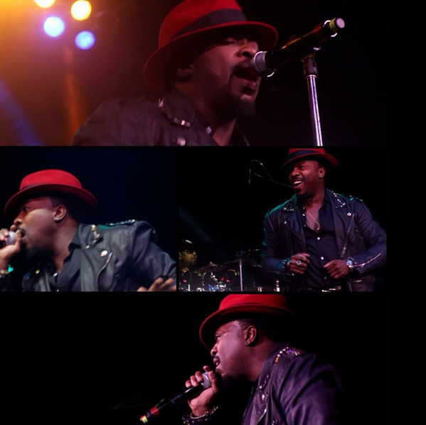 Screen grabs from an Anthony Hamilton concert we filmed