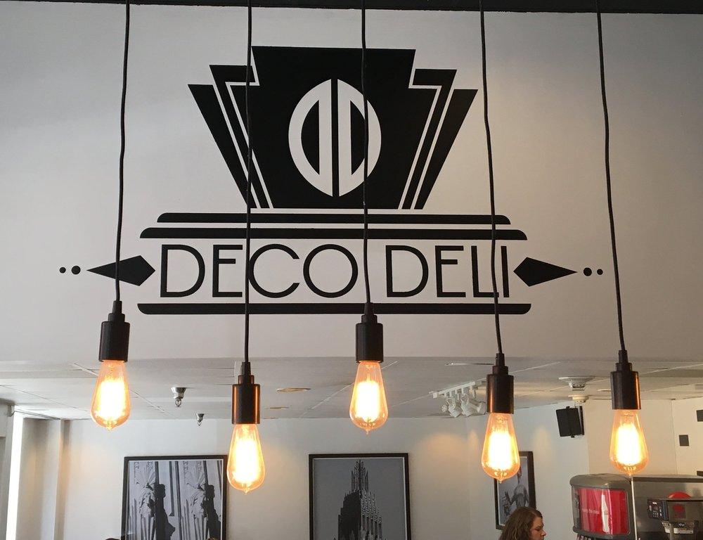 First stop, Deco Deli!
