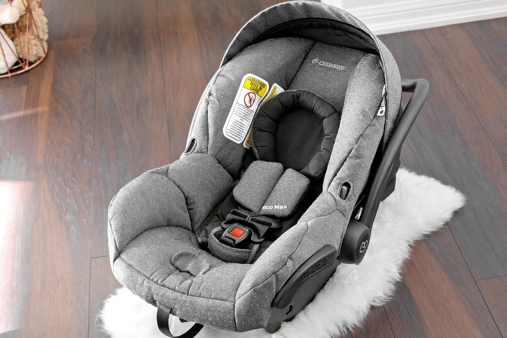 The Maxi-Cosi  Mico Max 30  in Sparkling Grey (Snuggle Bugz  exclusive  fashion!)