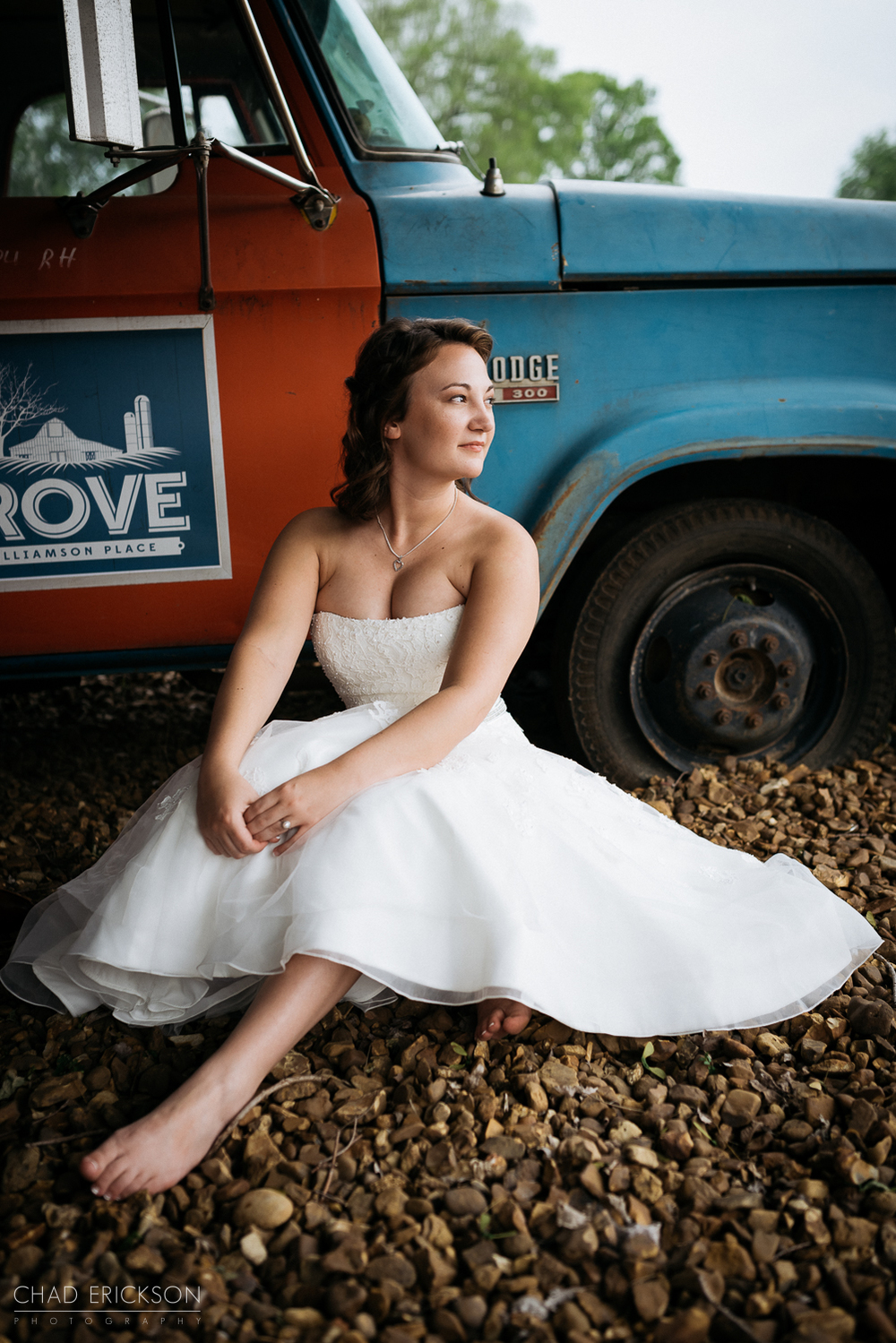 Bridal portrait at The Grove of Williamson Place