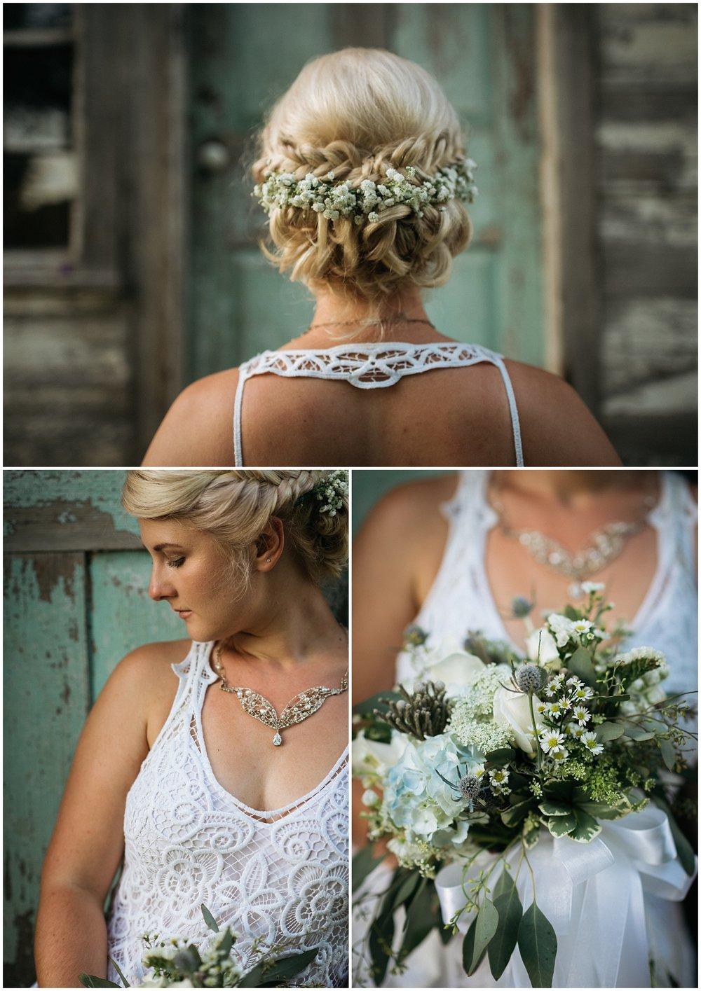 More bridal details