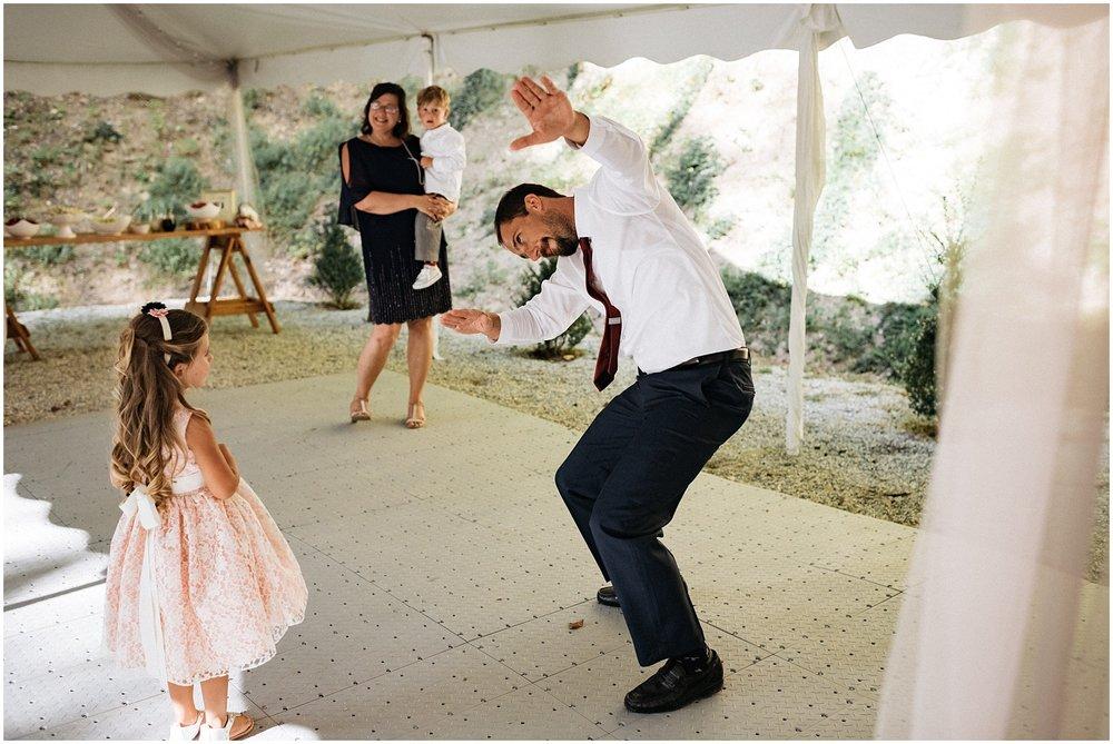 Fun dancing pictures from Nantahala wedding