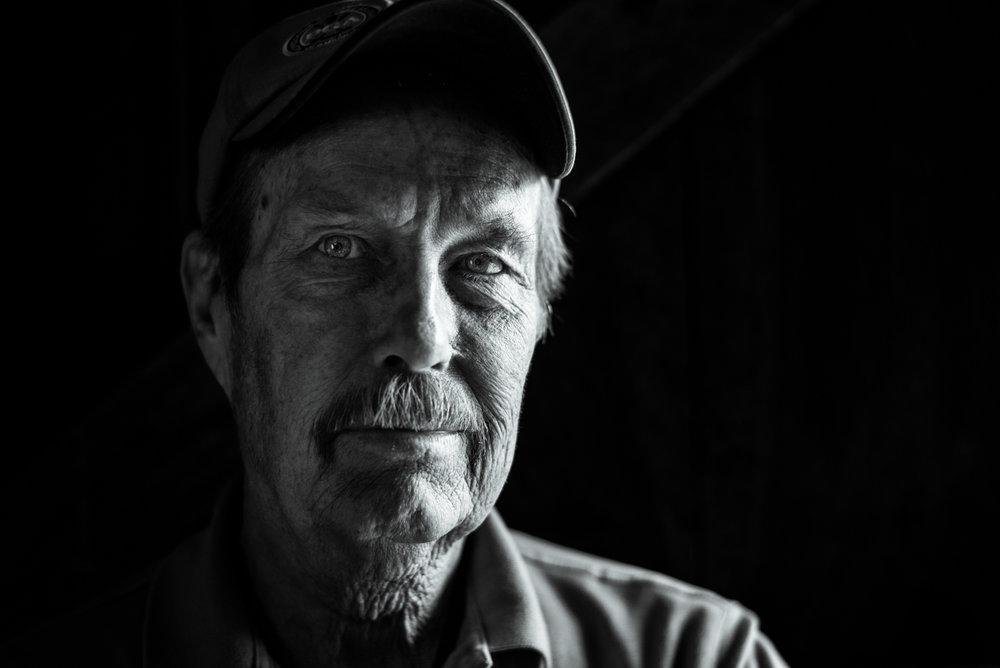 Dad portrait