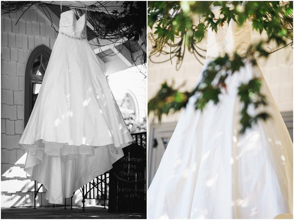 Wedding dress collage