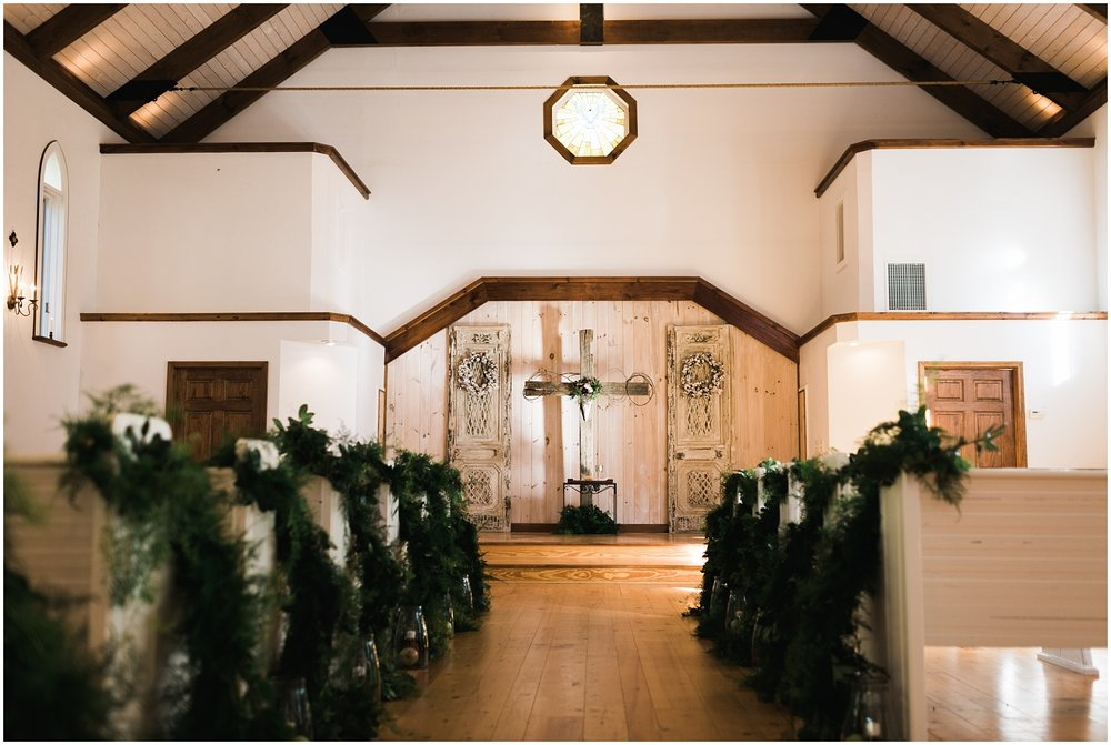 Chota Falls Chapel interior shot