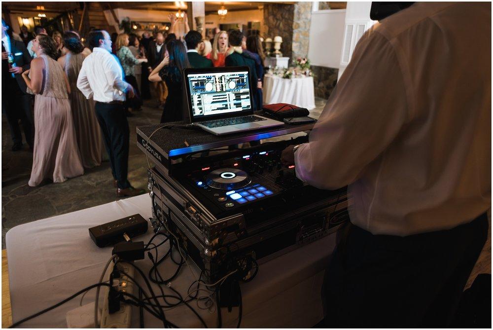 DJ at reception