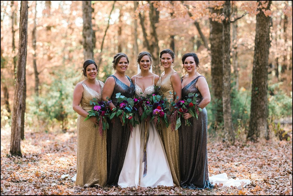 Bridesmaids portrait in Nashville