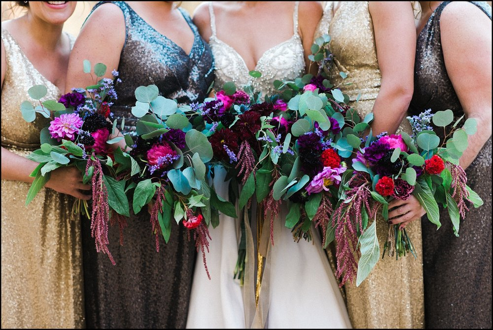 Beautiful bridesmaid's bouquets