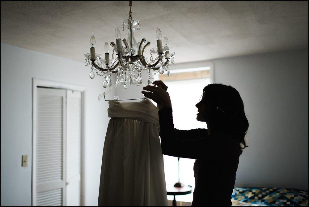 Bride shilhouette