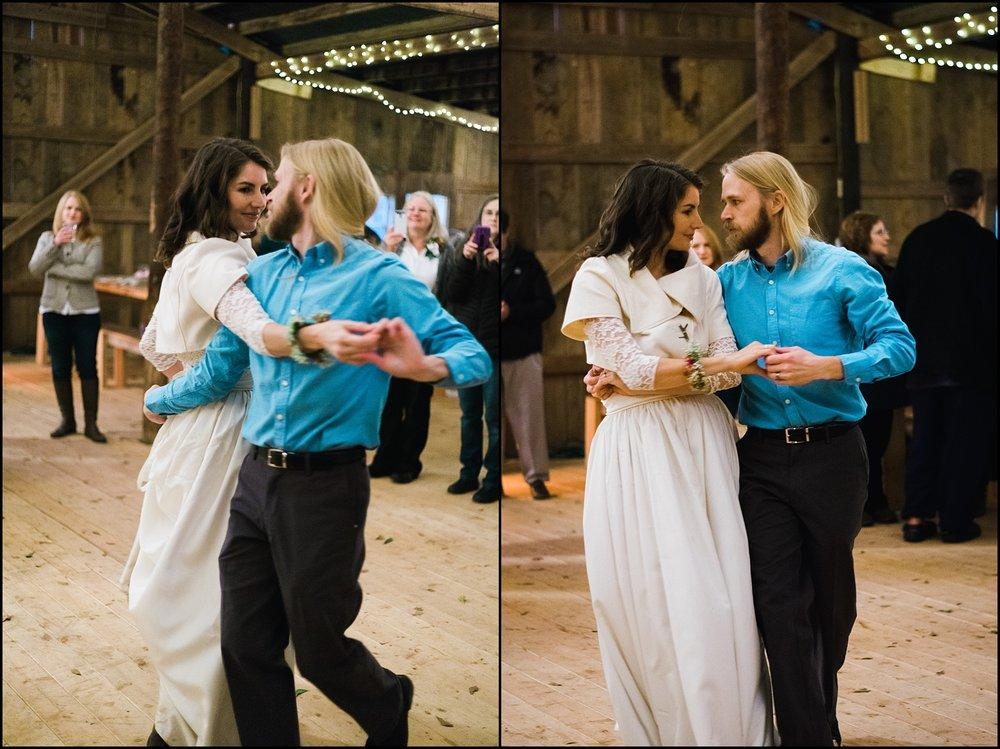Wedding first dance collage