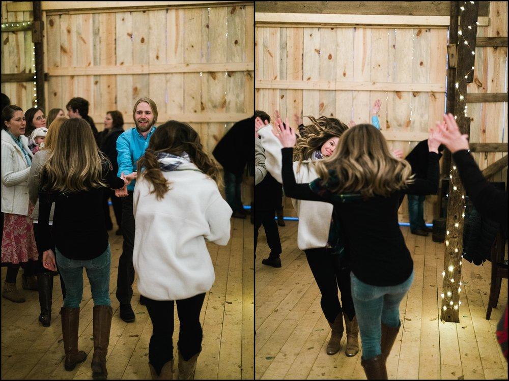 Dance floor collage