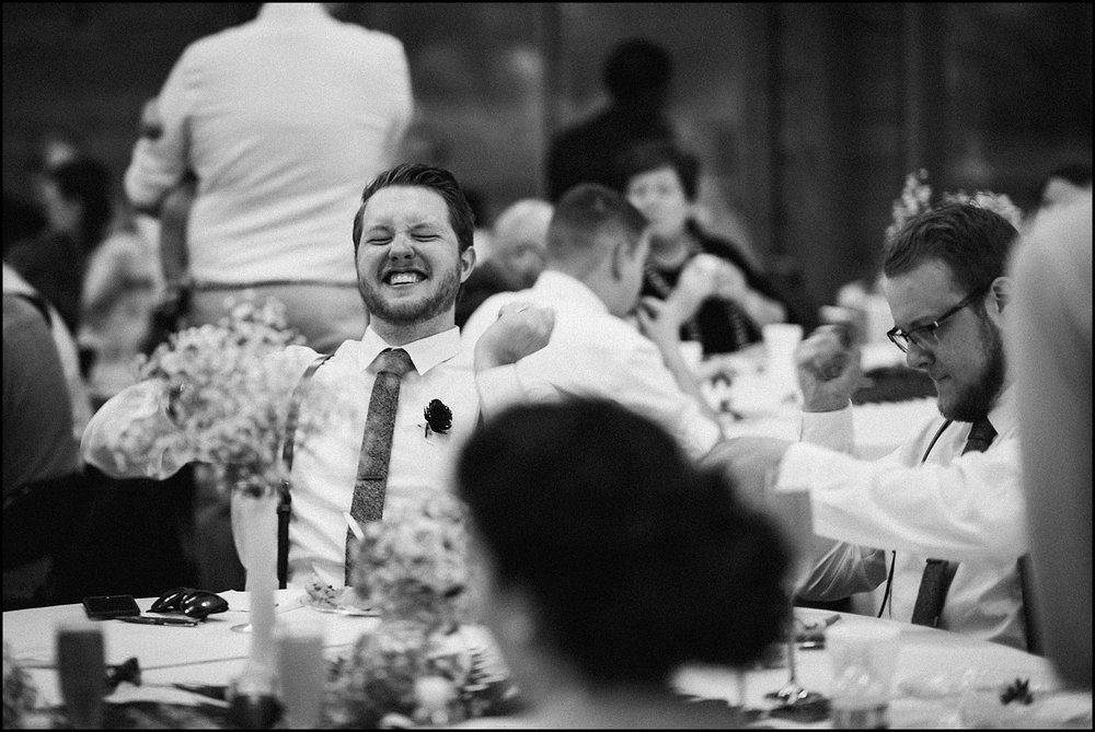 Funny moment at reception