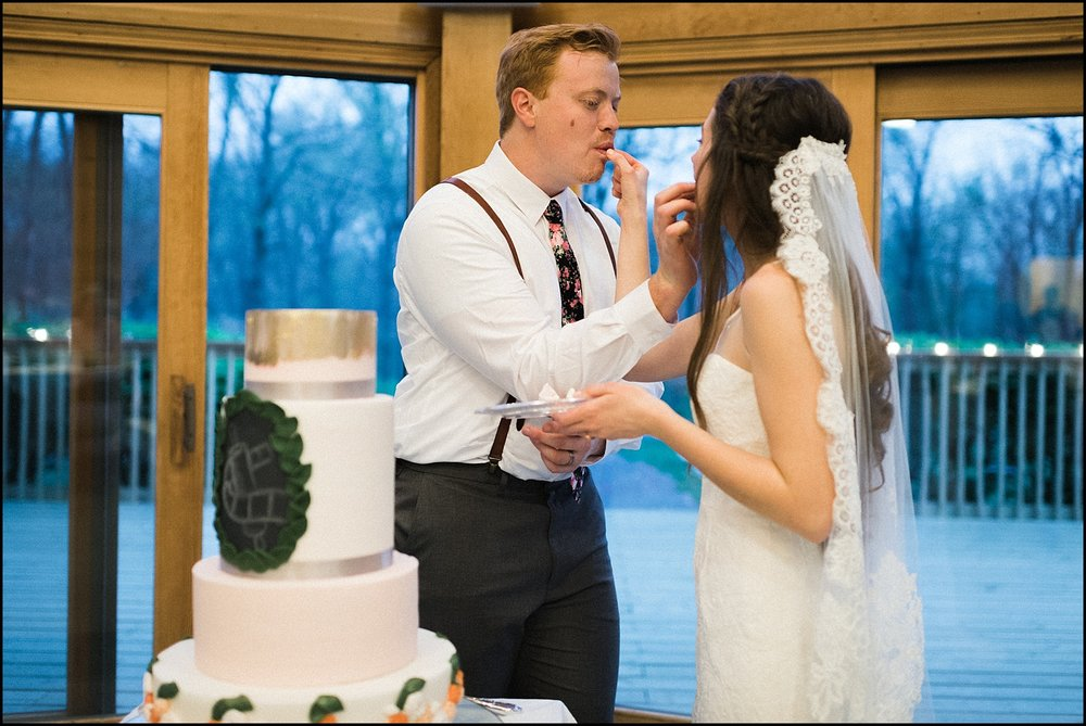 Cake eating!