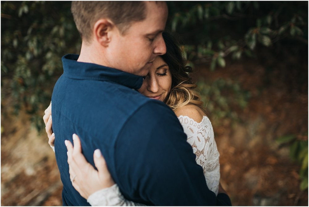 Nantahala engagement session