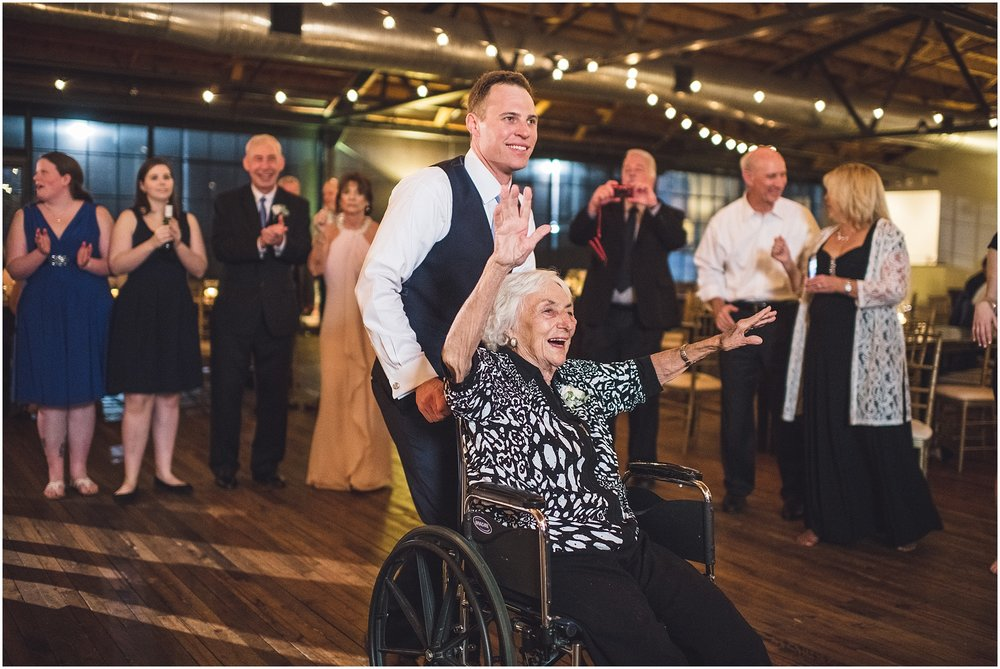 Groom and Grandma dance