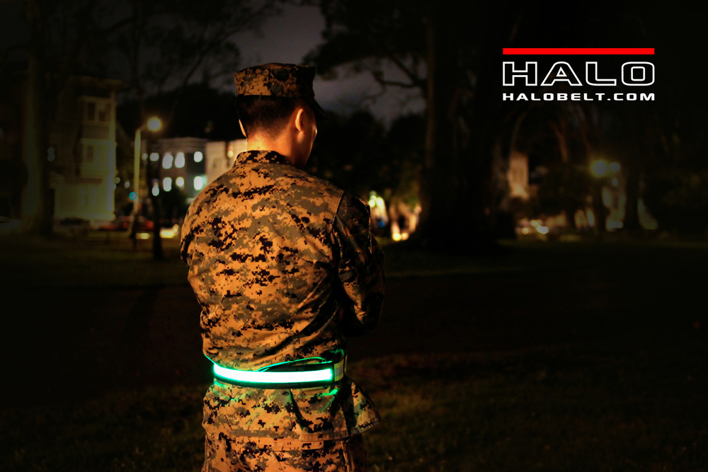 Halo Belt 2.0 - Military illuminated safety belt