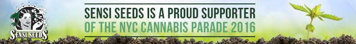 Sensi Seeds is a proud supporter of the NYC Cannabis Parade 2016