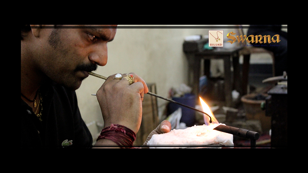 Gentle Peaks of Flame to Weld Jewellery