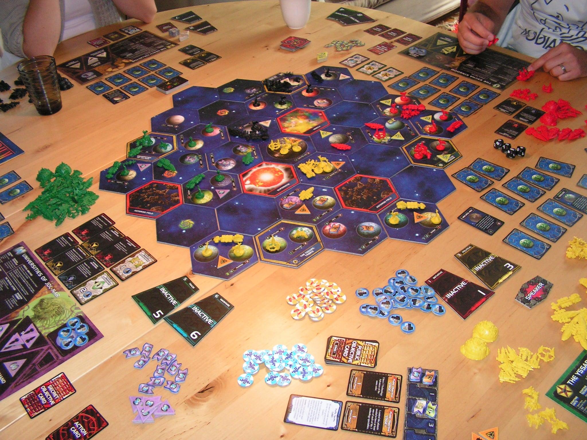 Twilight Imperium in progress