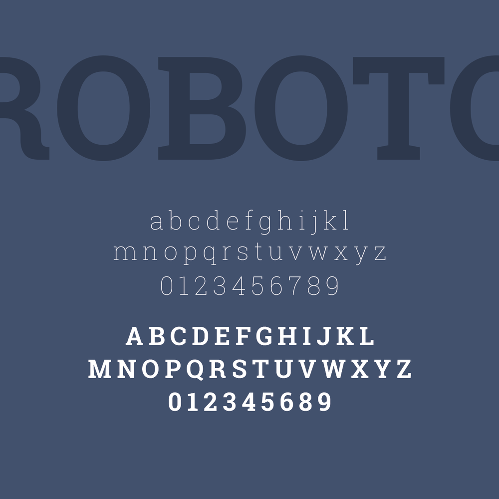 Favorite Font Friday: Roboto font by Pace Creative Design Studio