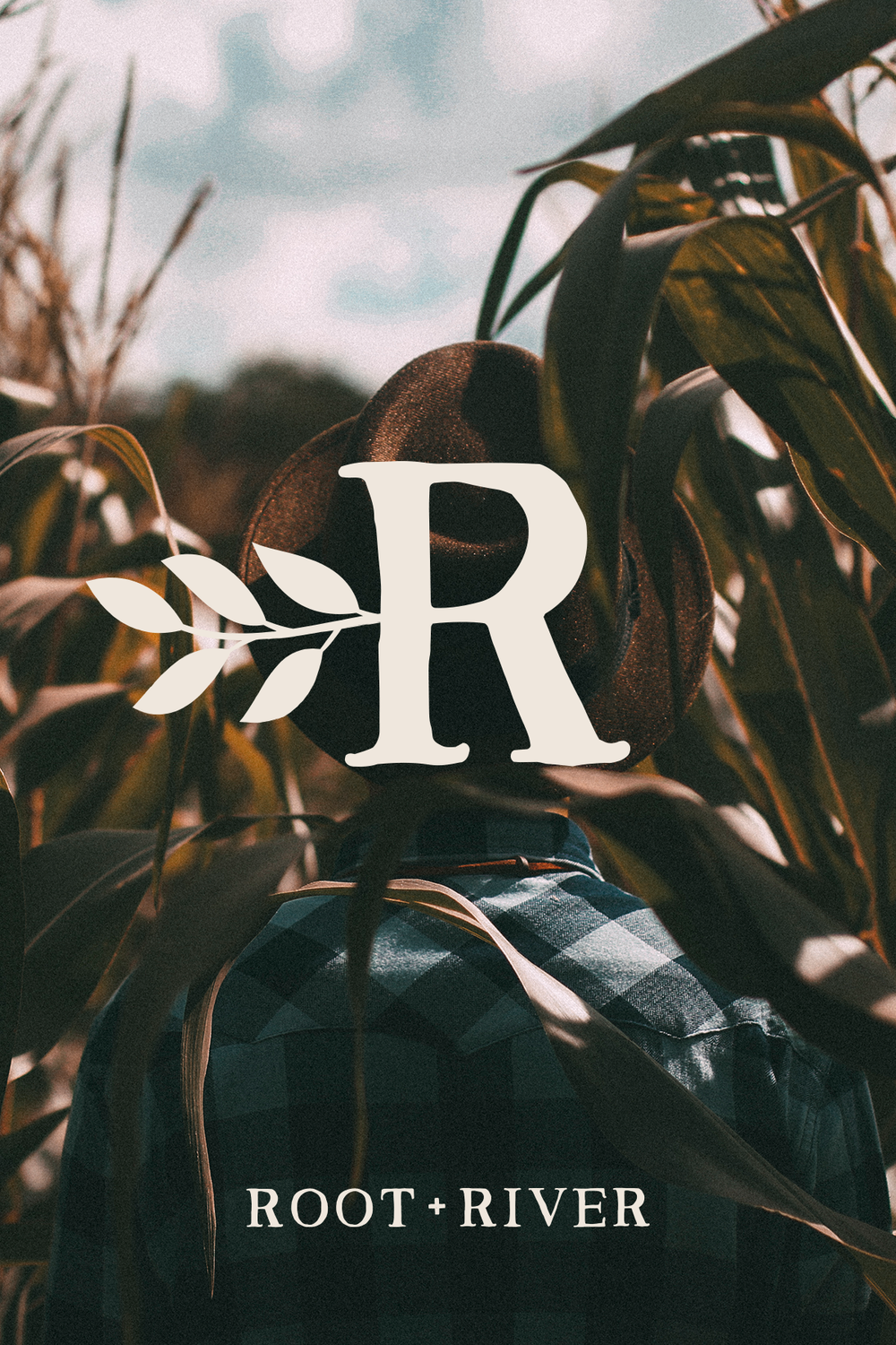 root + river brand design by Pace Creative Design Studio