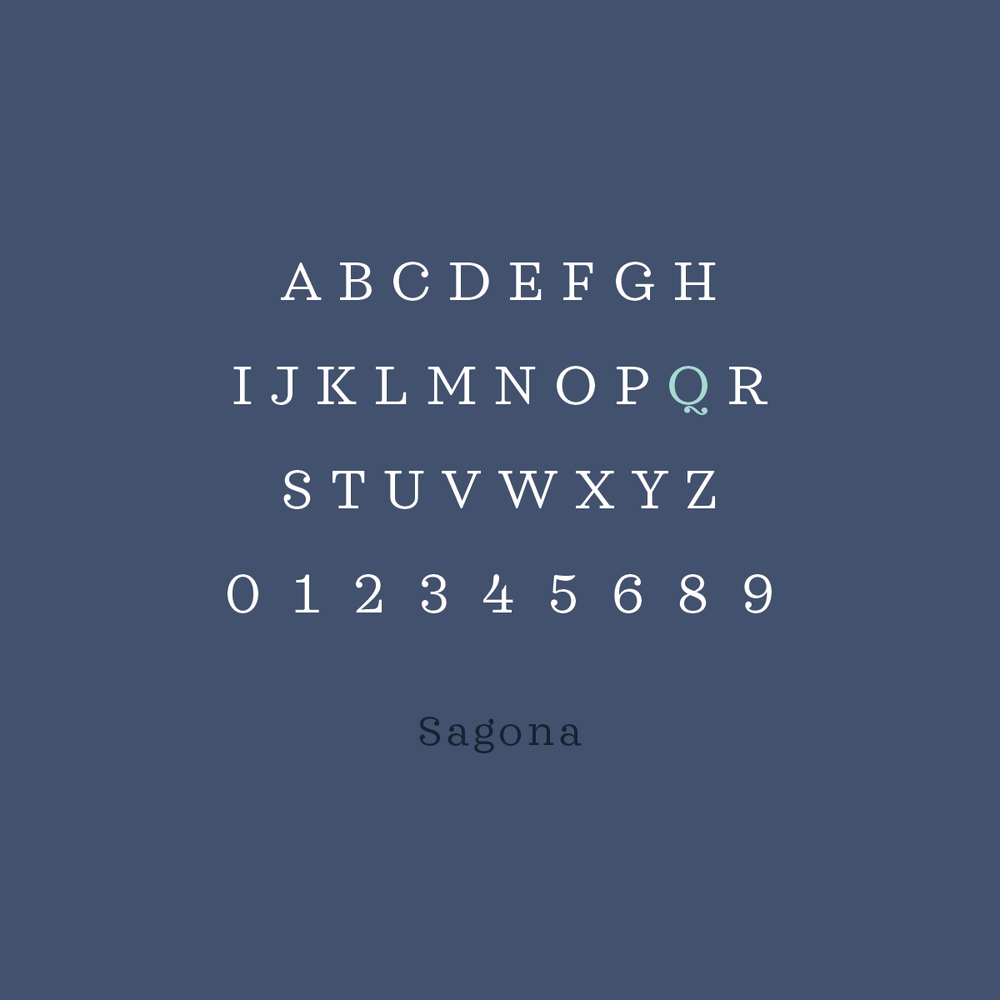 Favorite Font Friday no. 4: Sagona | Pace Creative Design Studio