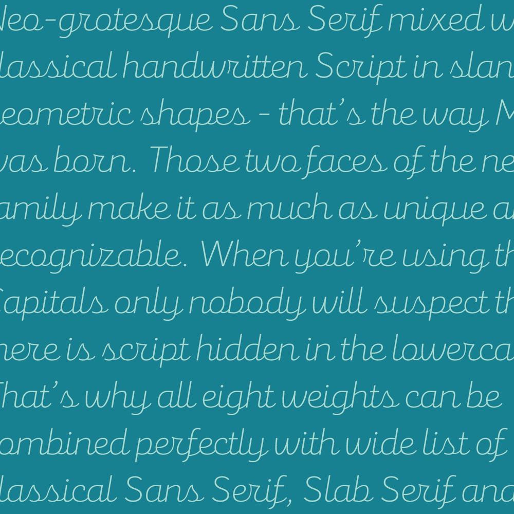 Mixa font