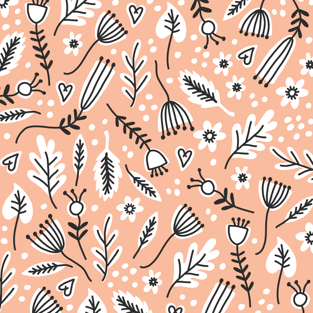 Valentine's Day inspired pattern by Pace Creative Design Studio