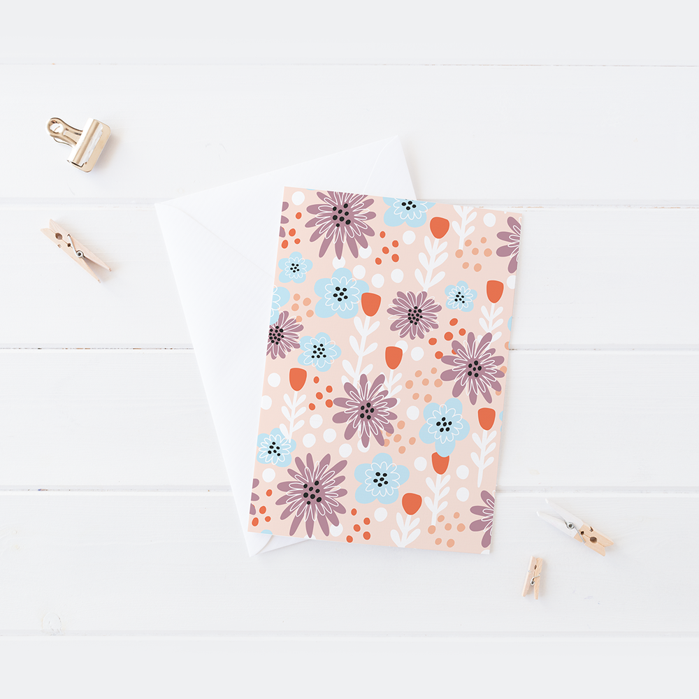 Spring floral pattern by Pace Creative Design Studio