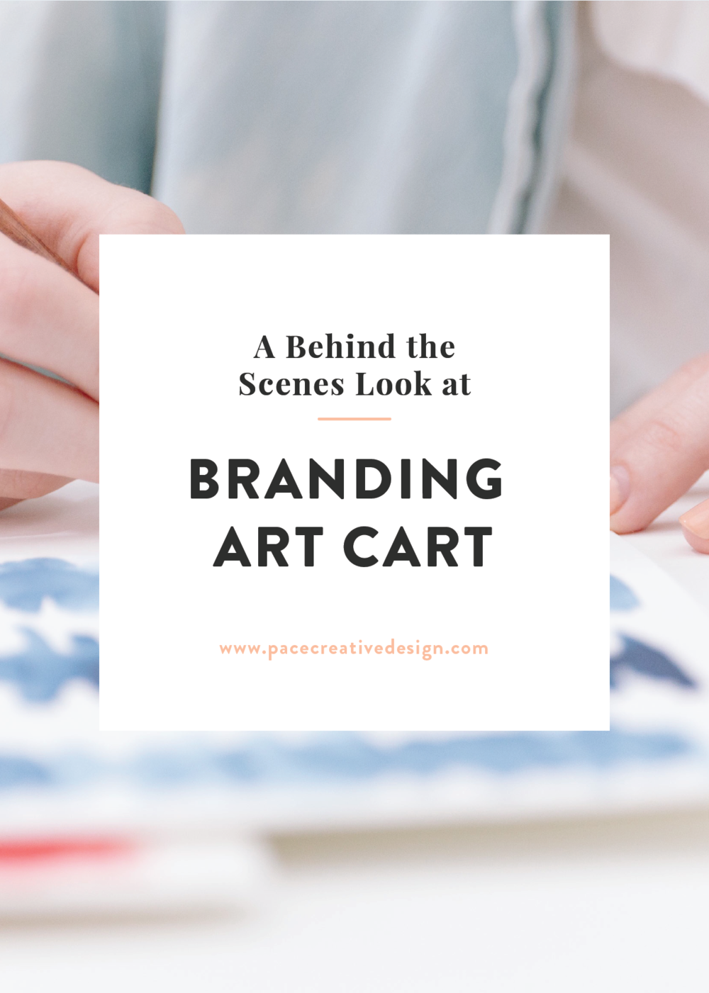 A behind the scenes look at the branding of Art Cart by Pace Creative Design Studio
