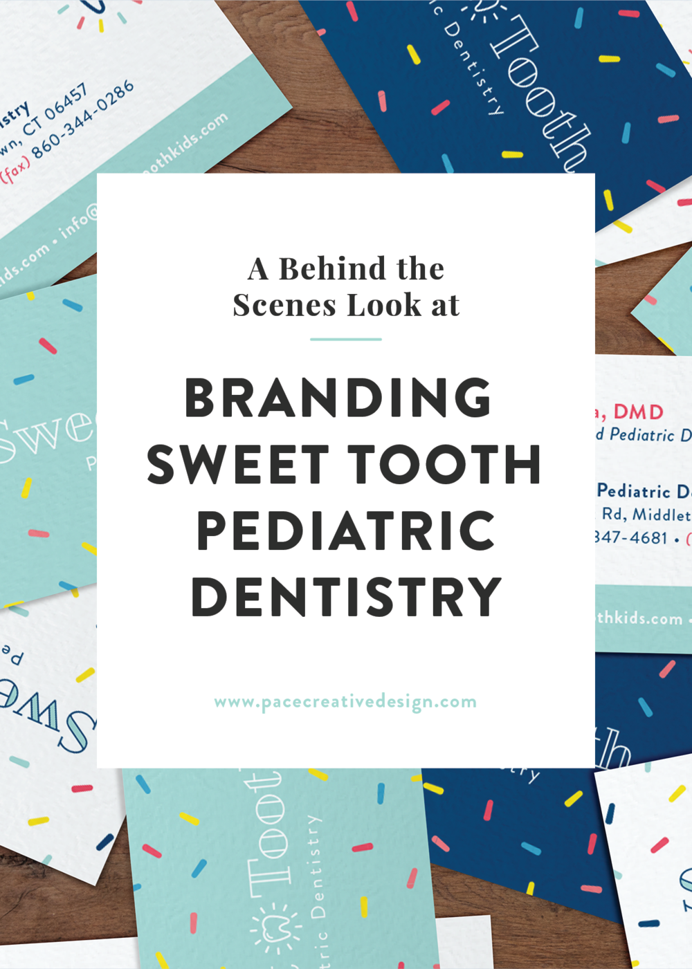 Project Spotlight: Sweet Tooth Pediatric Dentistry Brand Design by Pace Creative Design Studio