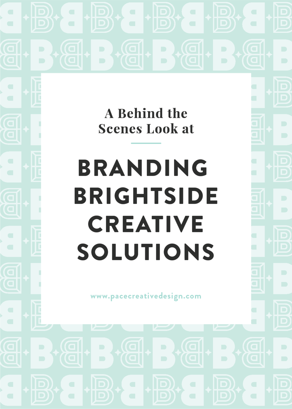 Brightside Creative Solutions brand design by Pace Creative Design Studio