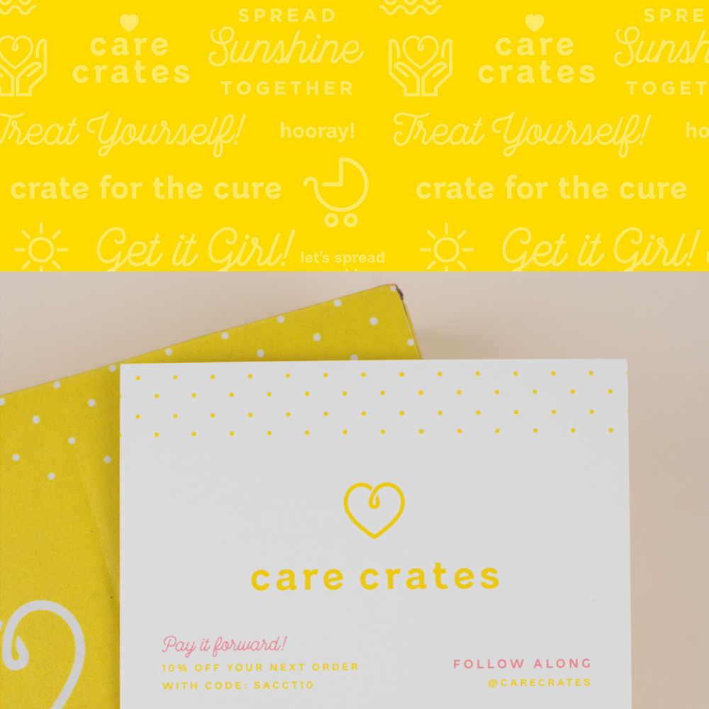 Care Crates brand design by Spruce Rd