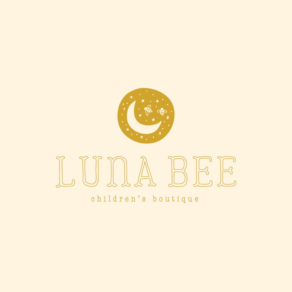 Luna Bee Children's Boutique brand design by Pace Creative Design Studio | Color Diaries: Yellow
