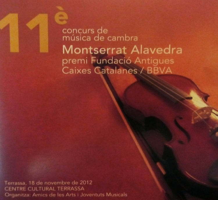 xi CHAMBER MUSIC COMPETITION MONSERRAT ALAVEDRA  Art Sound Quartet 2010  Works by Glazunov, Levy and Vassena